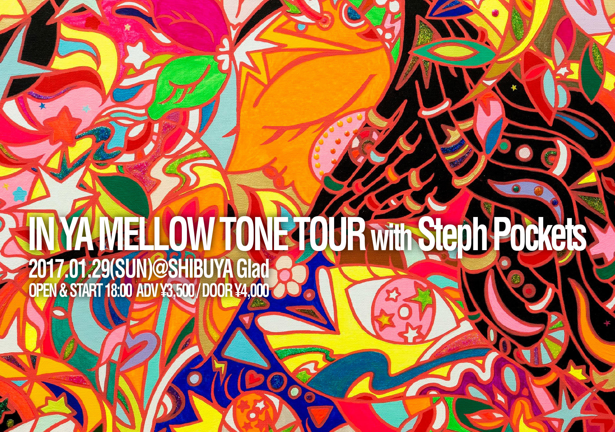 【Steph Pockets JAPAN TOURプラン】