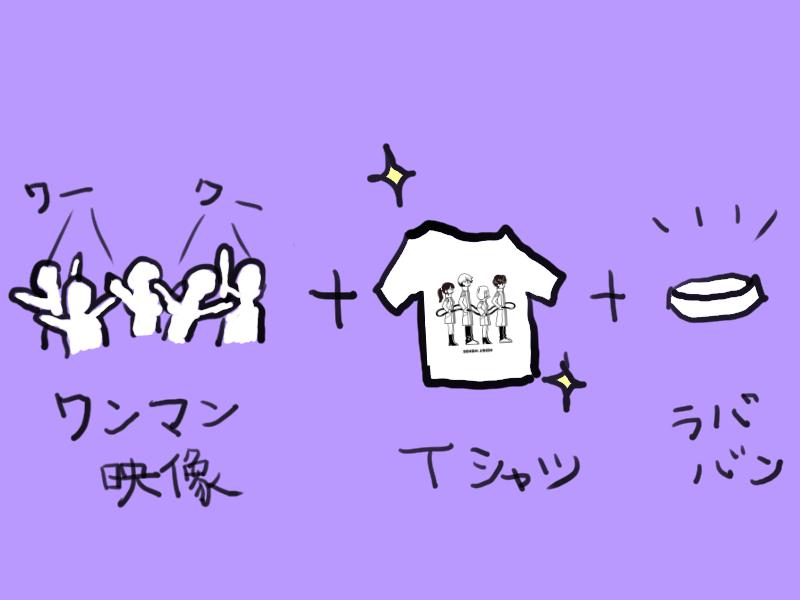 3/5 ワンマン映像 前編 or 後編+ラババン+Tシャツ