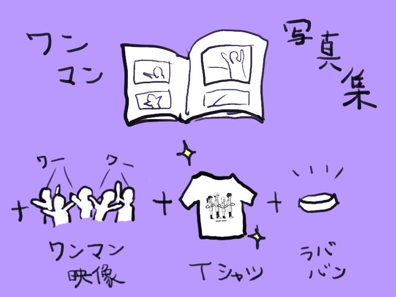3/5ワンマンフル映像+写真集+ラババン+Tシャツ