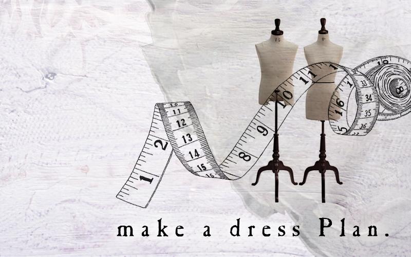 【世界に一つのオートクチュール「dress」プラン】