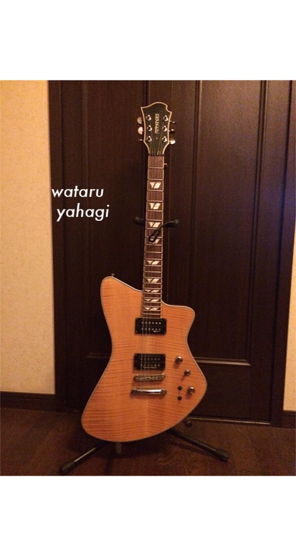 【矢萩渉、所有ギタープレゼントプラン】
