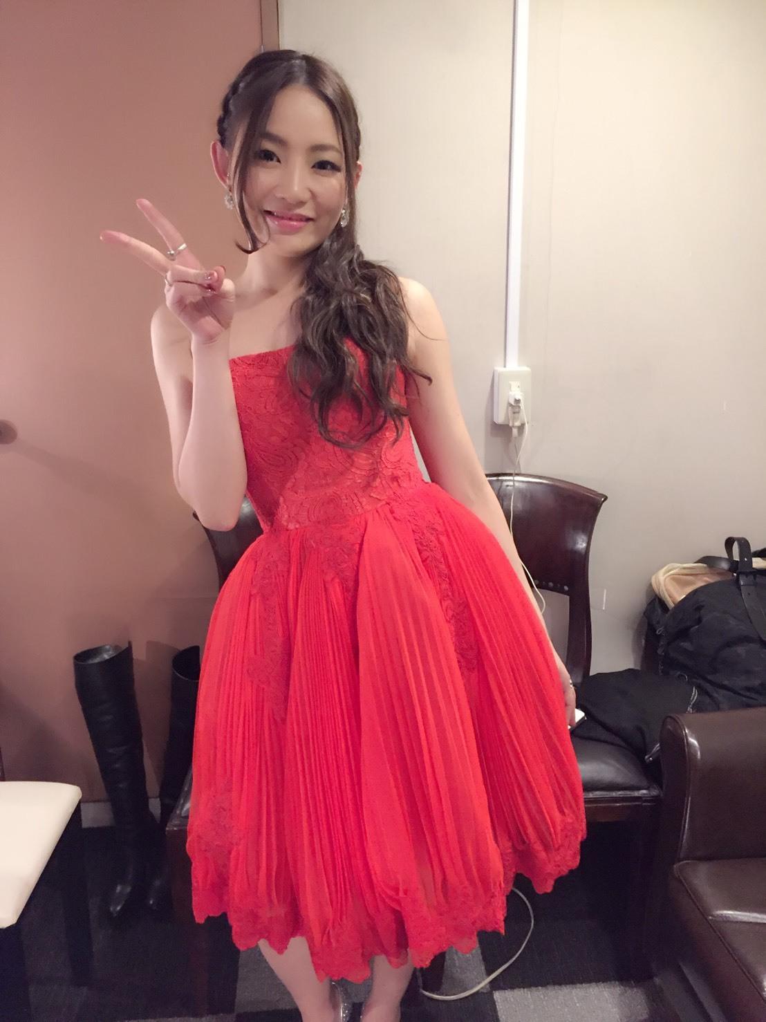 【オークション販売】赤いドレス