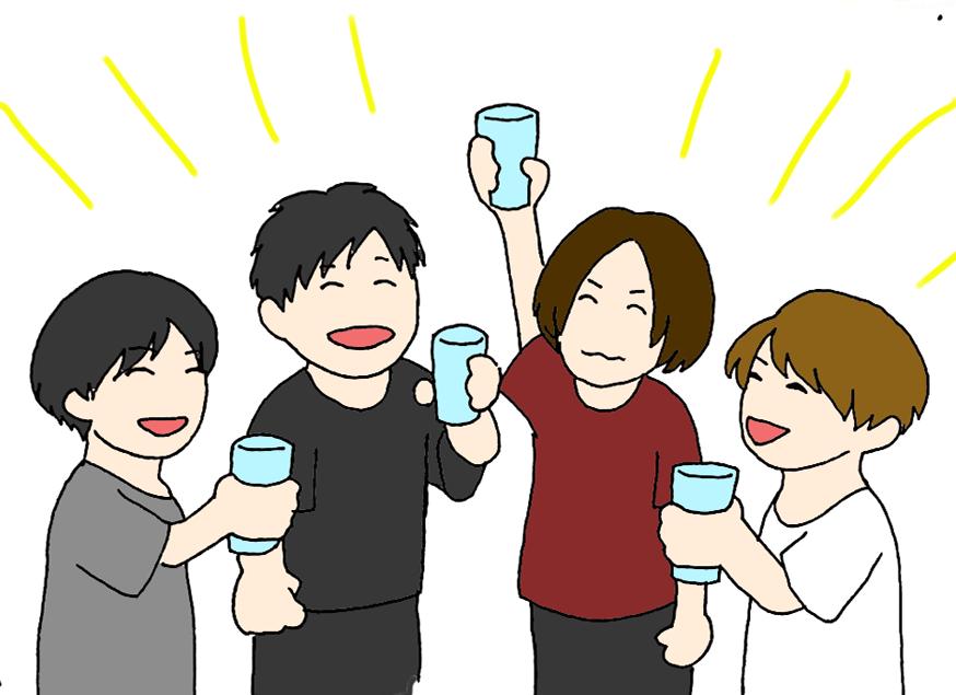 バックステージ乾杯プラン【10月25日】