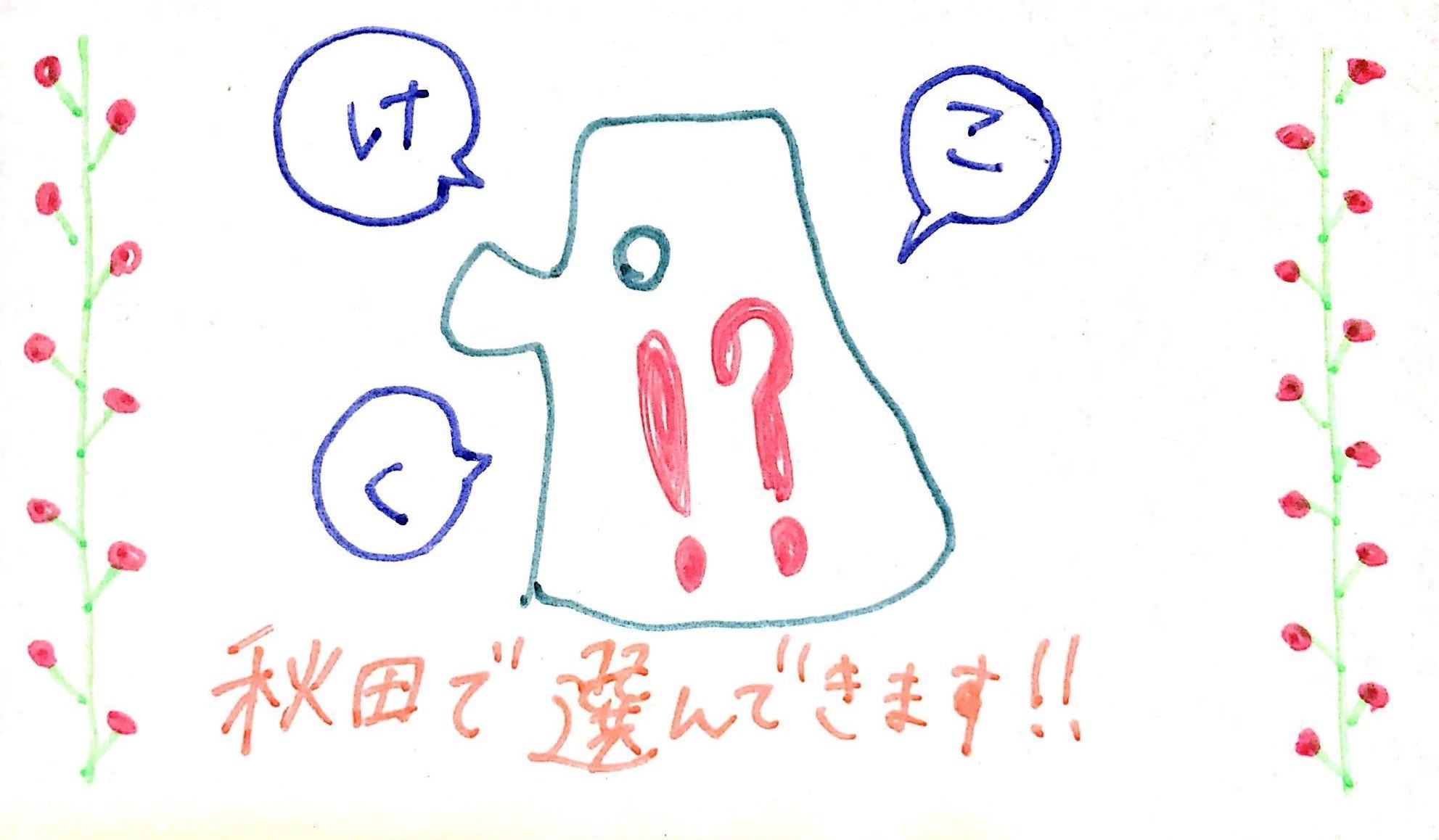 秋田のお土産セットプラン