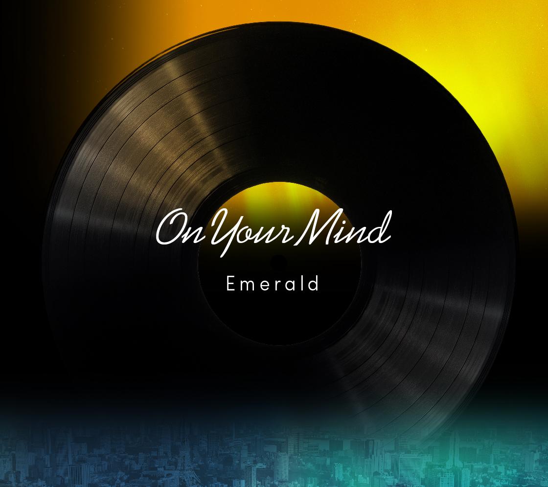 <世界に一つだけ!「On Your Mind」- 12inch - 額入りファーストプレスプレゼントプラン>