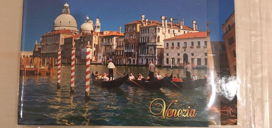 ②ヴェネチアから手書きのポストカード郵送❣️プラン