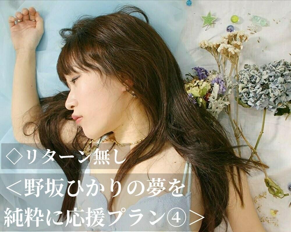 <野坂ひかりの夢を純粋に応援プラン④>