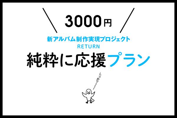 <純粋に応援 〜ミドル〜 プラン>