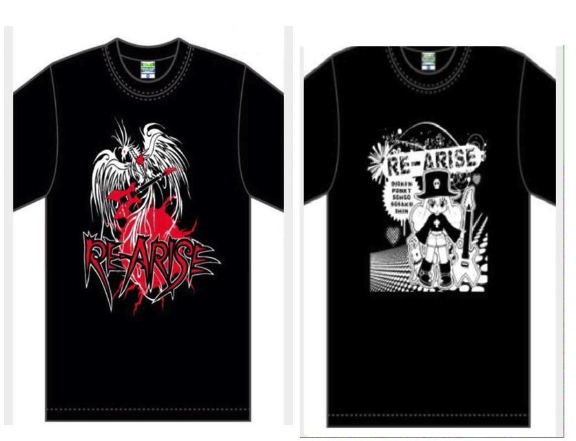 【喜国先生監修RE-ARISE Tシャツプラン】