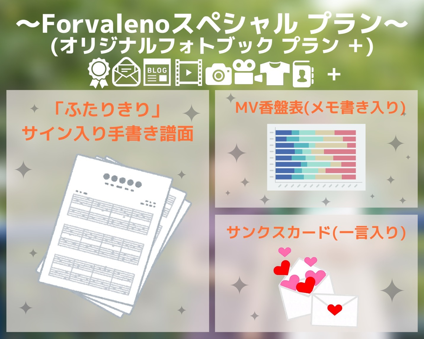 <Forvalenoスペシャル プラン>