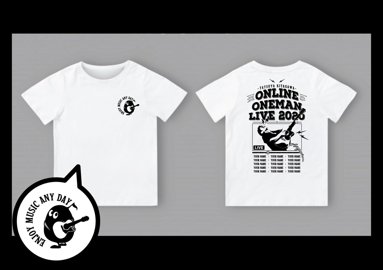<北川たつや応援サポーター限定Tシャツ>