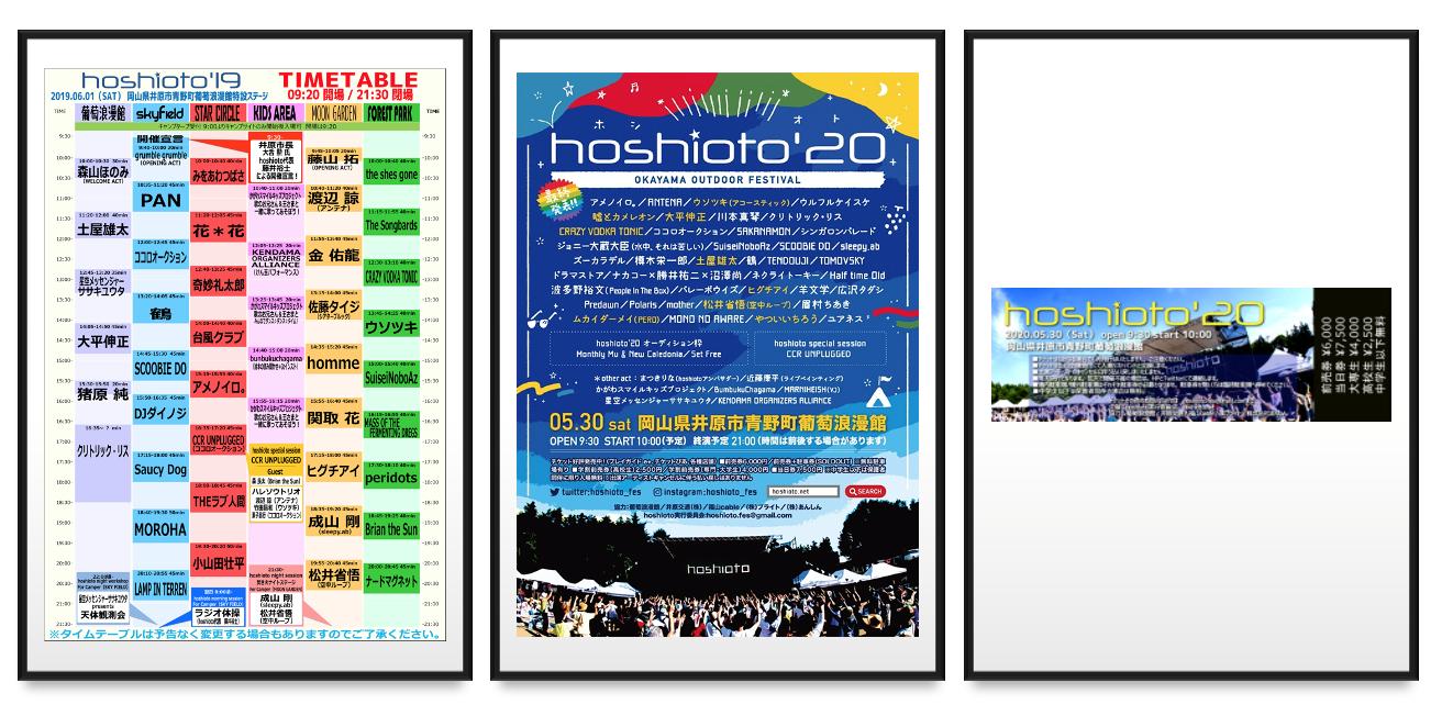 <hoshioto'20 記念グッズセット プラン>