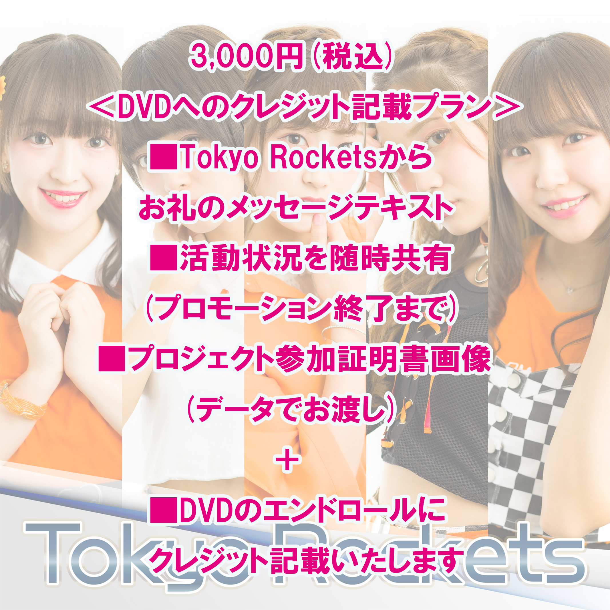 <DVDへのクレジット記載プラン>