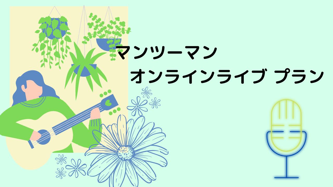 <マンツーマンオンラインライブ  プラン>