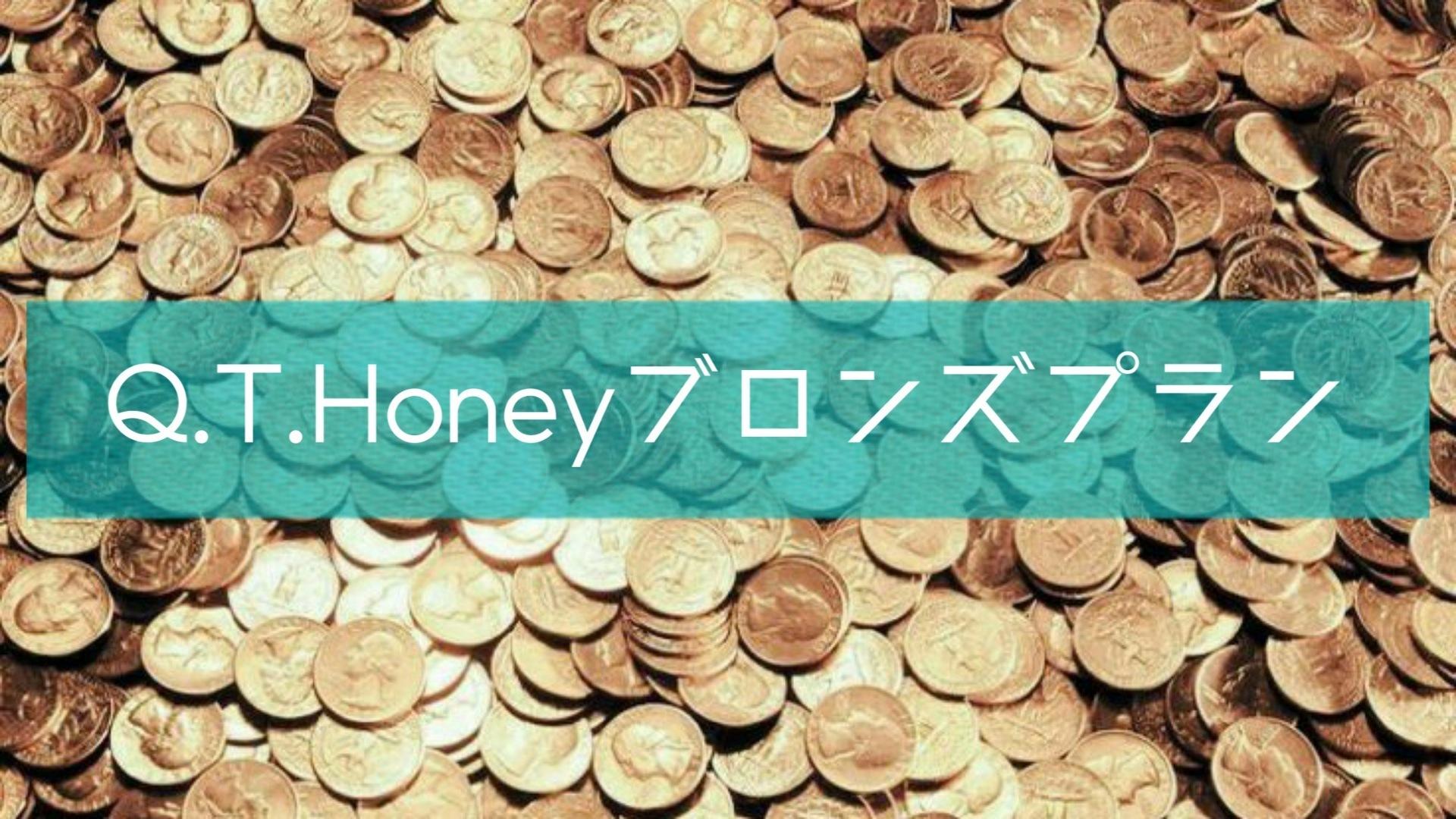 Q.T.Honey ブロンズプラン
