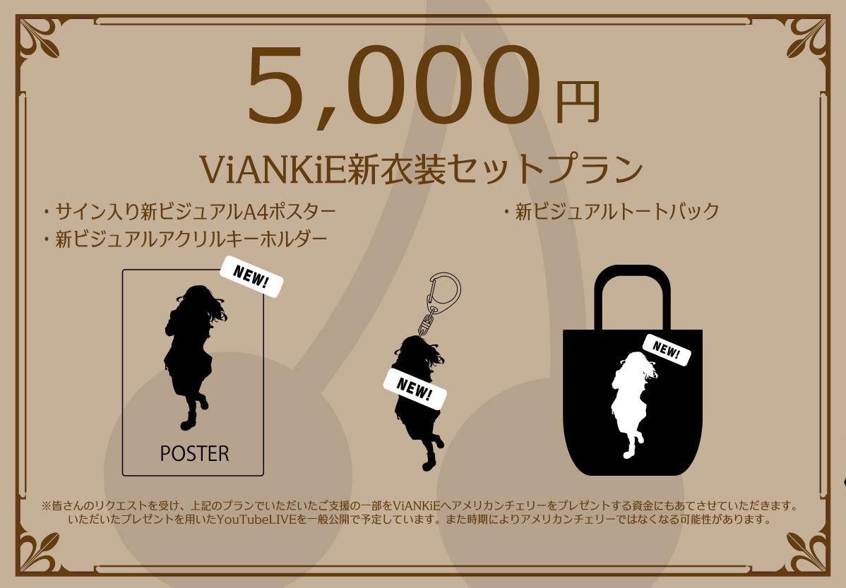 <ViANKiE新衣装セットプラン>〜追加プラン〜