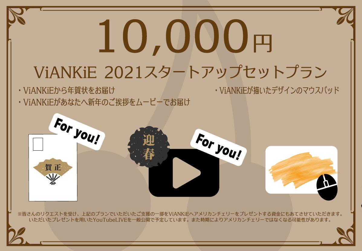<ViANKiE2021スタートアップセットプラン>