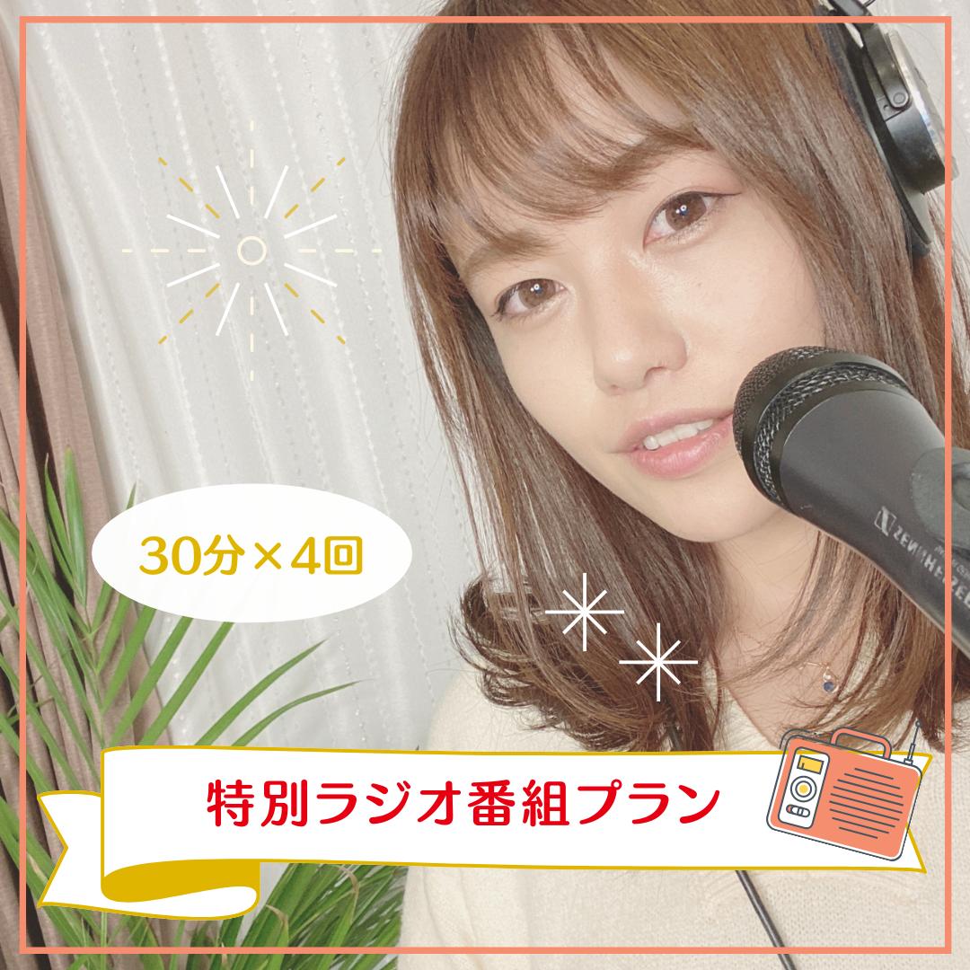 <特別ラジオ番組 プラン>