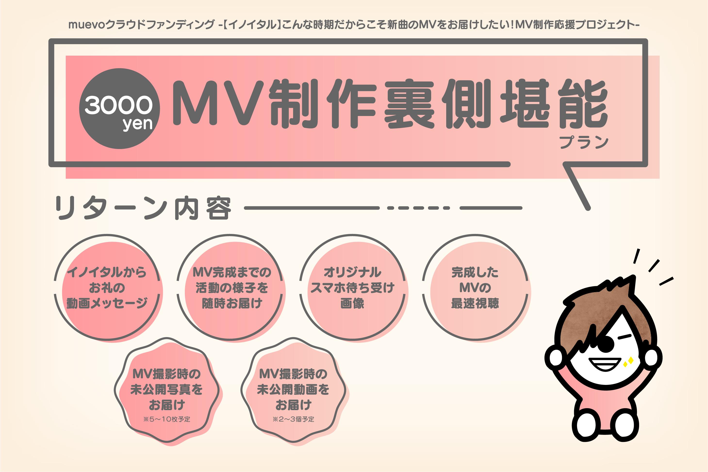 <MV製作裏側堪能 プラン>