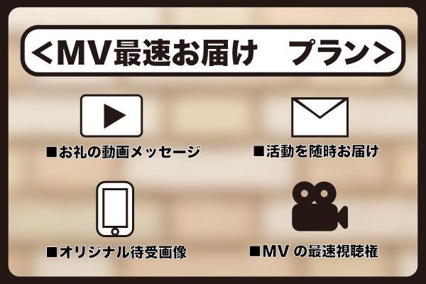 <MV最速お届け プラン>