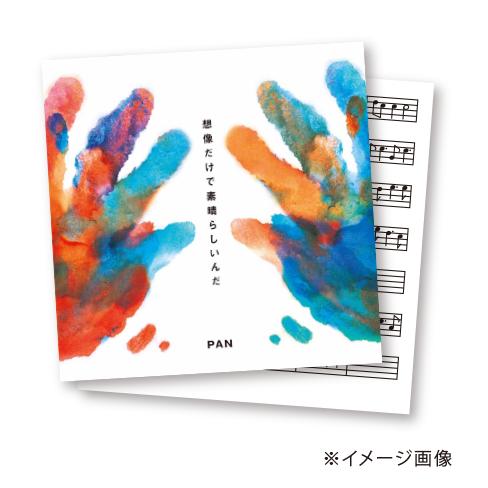 【シングル「想像だけで素晴らしいんだ」4曲分直筆歌詞カード & コード譜付きプラン】※限定4名様