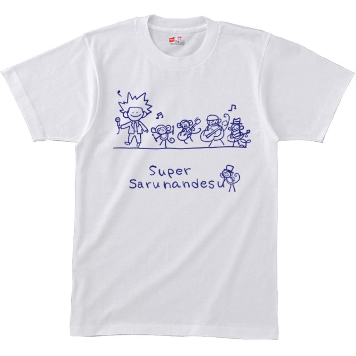 《朝倉チサトデザインスーパーサルナンデスTシャツ》