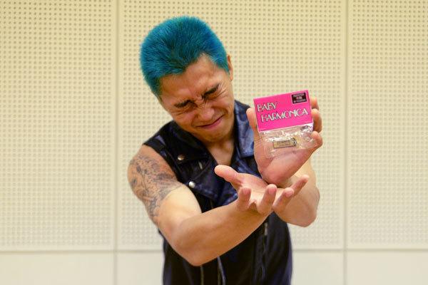 【MONSTER大陸オリジナル ミニハープ!&オリジナルタオル(サイン入り)&オリジナルトートバッグ(メッセージ入り)】