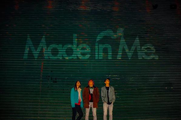 """横浜×町田発!3ピースロックバンド【Made in Me.】""""全曲新曲""""12か月連続デジタルリリースをしたい!!"""