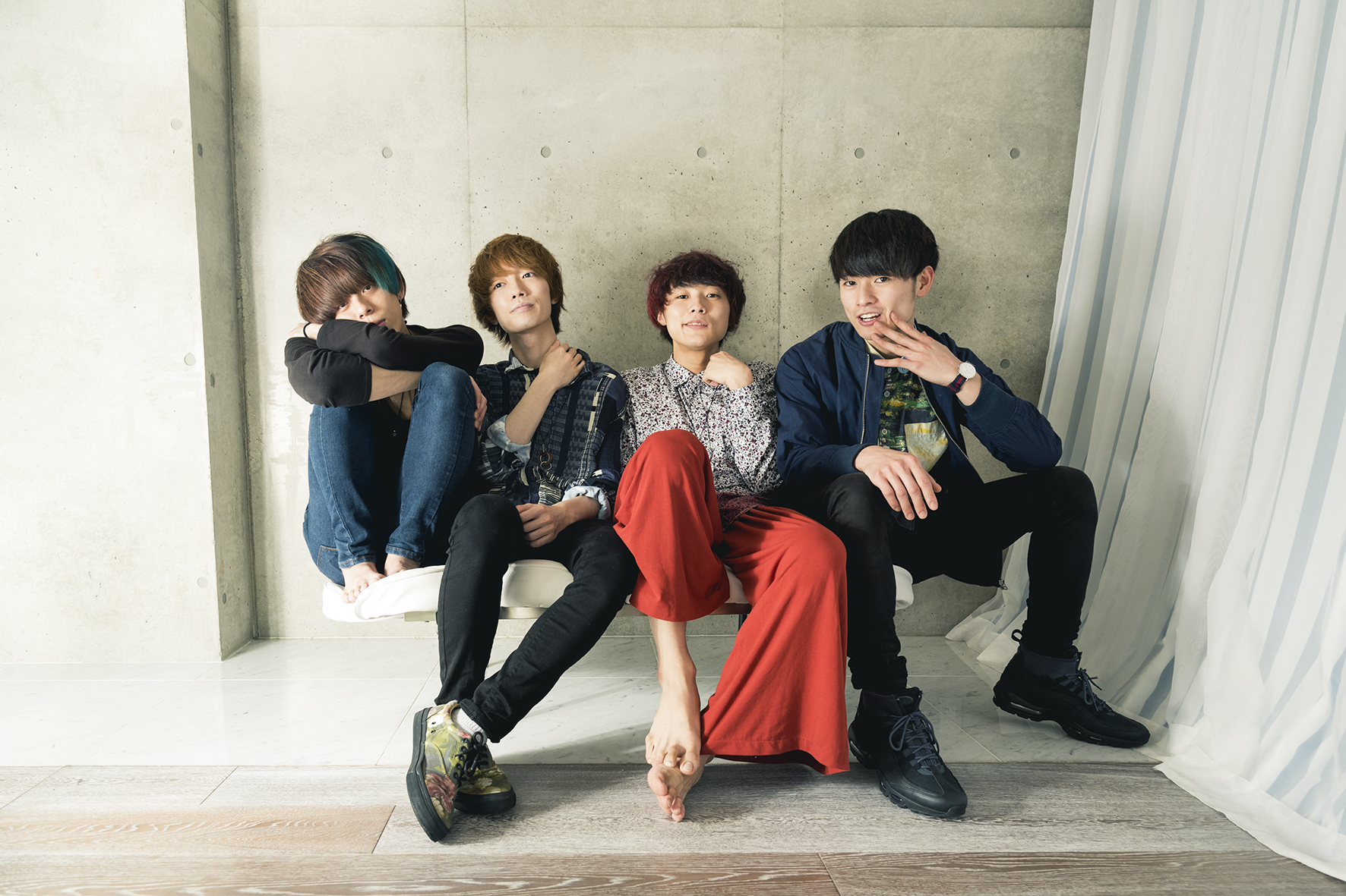 【アテレモ(ex.パステル)】バンドを改名!! 1st single&新MV製作プロジェクト