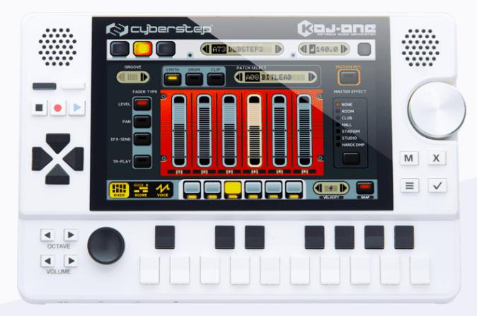 【歳末特別価格&特典】携帯型音楽作曲デバイス「KDJ-ONE」、販売キャンペーン