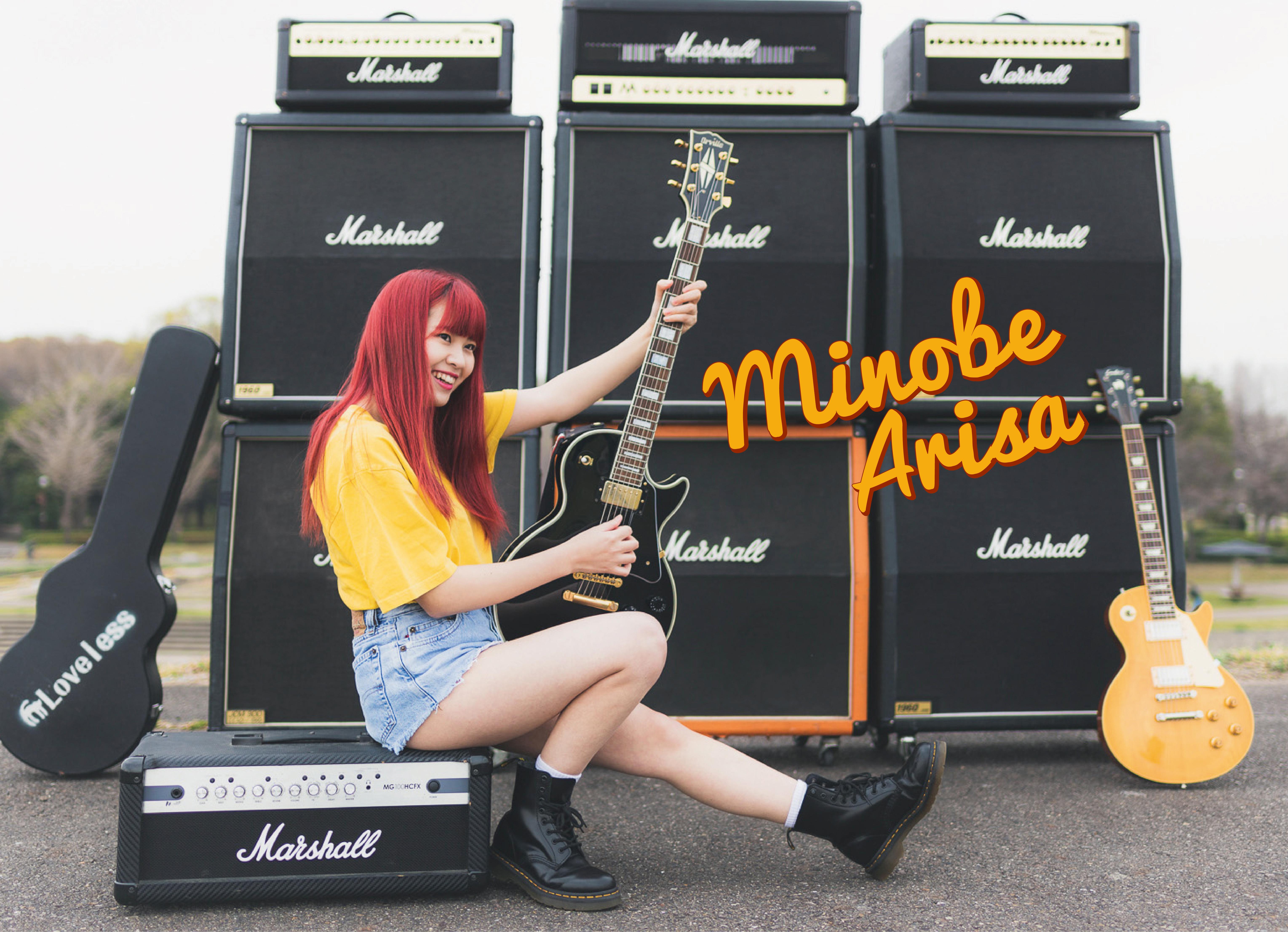 【みのべありさ】1st mini album「Side Story」リリース記念、大阪ビジョンジャックキャンペーン!