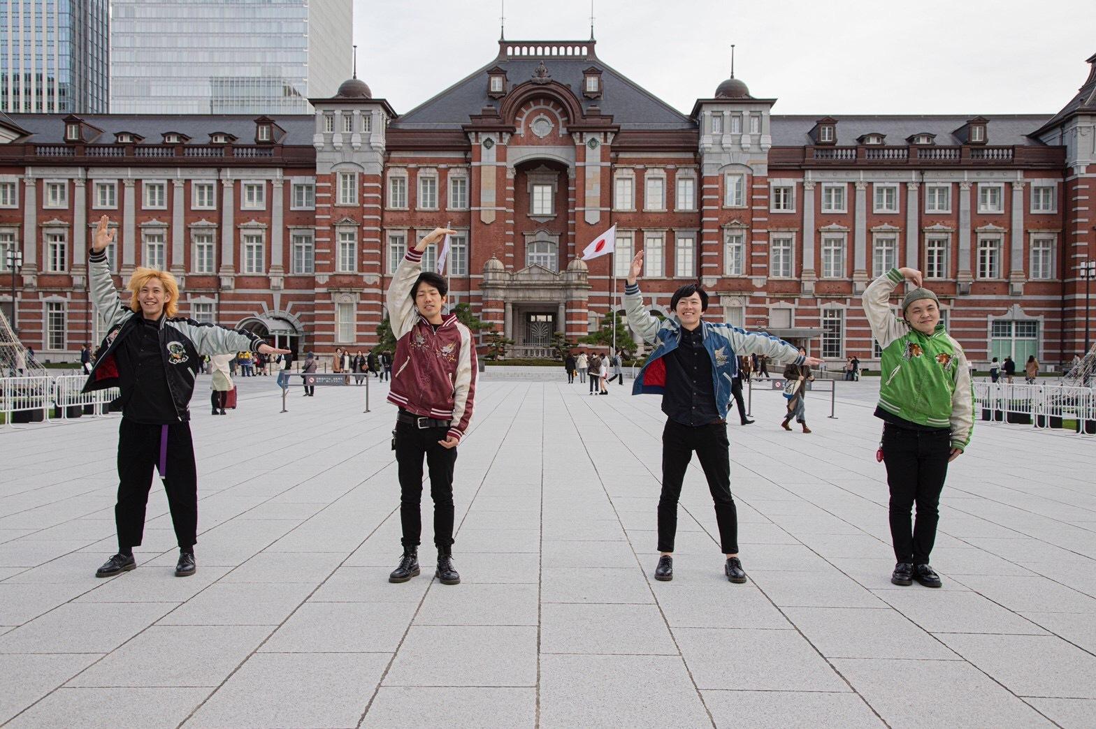 【THE THEATERS】渋谷の街をビジョンジャック!初のフルアルバム「Door」を宣伝したい!!